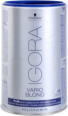 Schwarzkopf Professional IGORA Vario Blond rozjaśniacz w proszku