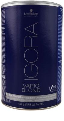 Schwarzkopf Professional IGORA Vario Blond puder rozjaśniający