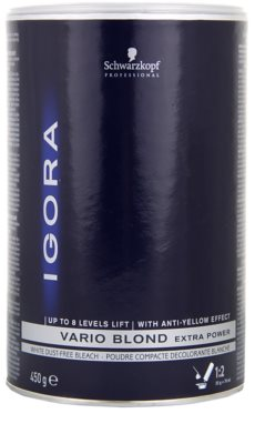 Schwarzkopf Professional IGORA Vario Blond puder rozjaśniający 1