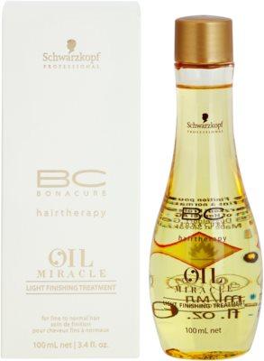 Schwarzkopf Professional BC Bonacure Oil Miracle Marula Oil Haarkur für sanfte und müde Haare 1