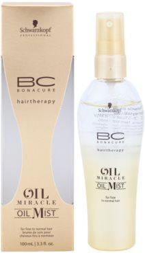 Schwarzkopf Professional BC Bonacure Oil Miracle Marula Oil aceite en spray para cabello fino y normal 1