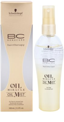 Schwarzkopf Professional BC Bonacure Oil Miracle Marula Oil óleo em spray para cabelo fino a normal 1