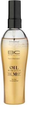 Schwarzkopf Professional BC Bonacure Oil Miracle Marula Oil Öl-Spray für feines bis normales Haar