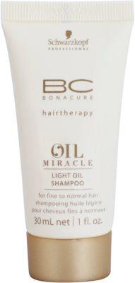 Schwarzkopf Professional BC Bonacure Oil Miracle Marula Oil lehký olejový šampon pro všechny typy vlasů