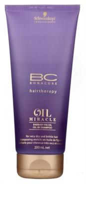 Schwarzkopf Professional BC Bonacure Oil Miracle Barbary Fig Oil champú reparador para cabello muy seco y dañado