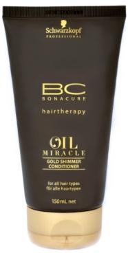Schwarzkopf Professional BC Bonacure Oil Miracle Argan Oil kondicionáló minden hajtípusra