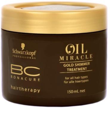 Schwarzkopf Professional BC Bonacure Oil Miracle Argan Oil Maske für alle Haartypen