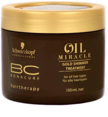 Schwarzkopf Professional BC Bonacure Oil Miracle Argan Oil маска  за всички видове коса
