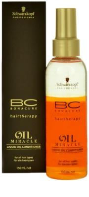 Schwarzkopf Professional BC Bonacure Oil Miracle Argan Oil Conditioner im Spray für alle Haartypen