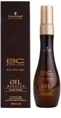 Schwarzkopf Professional BC Bonacure Oil Miracle Argan Oil спрей за коса за блясък 1