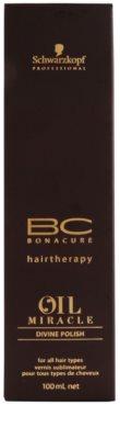 Schwarzkopf Professional BC Bonacure Oil Miracle Argan Oil спрей за коса за блясък 2