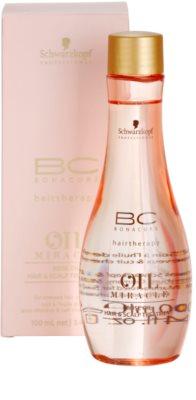 Schwarzkopf Professional BC Bonacure Oil Miracle Rose Oil oljni serum za obremenjene lase in lasišče 1