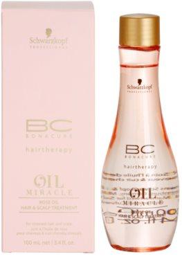 Schwarzkopf Professional BC Bonacure Oil Miracle Rose Oil oljni serum za obremenjene lase in lasišče 2