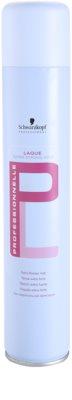 Schwarzkopf Professional PL laca de pelo fijación extra fuerte