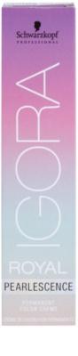 Schwarzkopf Professional IGORA Royal Pearlescence pastellfarbene Haarcolorierung 1