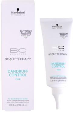 Schwarzkopf Professional BC Bonacure Scalp Therapy pomirjajoči in vlažilni fluid proti prhljaju 1