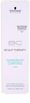 Schwarzkopf Professional BC Bonacure Scalp Therapy pomirjajoči in vlažilni fluid proti prhljaju 2