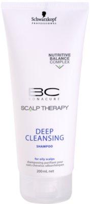 Schwarzkopf Professional BC Bonacure Scalp Therapy дълбоко почистващ шампоан за мазен скалп
