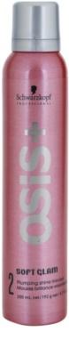Schwarzkopf Professional Osis+ Soft Glam espuma fijadora para dar volumen y brillo