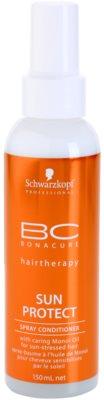Schwarzkopf Professional BC Bonacure Sun Protect balzam v pršilu za lase izpostavljene soncu