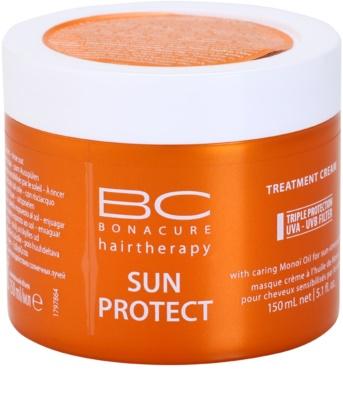 Schwarzkopf Professional BC Bonacure Sun Protect Maske mit ernährender Wirkung für von der Sonne überanstrengtes Haar