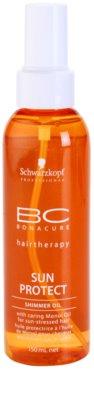 Schwarzkopf Professional BC Bonacure Sun Protect óleo cintilante para cabelo danificado pelo sol