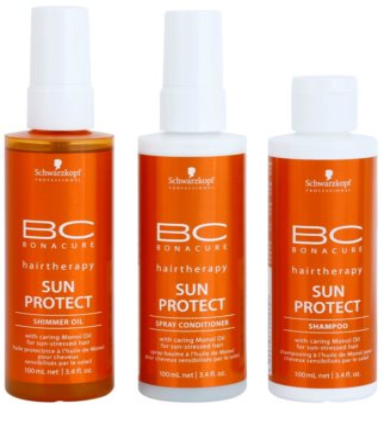 Schwarzkopf Professional BC Bonacure Sun Protect козметичен пакет  II.