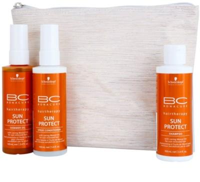 Schwarzkopf Professional BC Bonacure Sun Protect kozmetični set II. 1