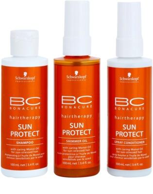 Schwarzkopf Professional BC Bonacure Sun Protect kozmetika szett III. 1