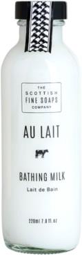 Scottish Fine Soaps Au Lait leche de baño