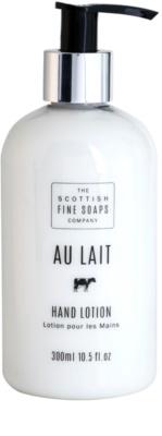 Scottish Fine Soaps Au Lait mleczko do rąk