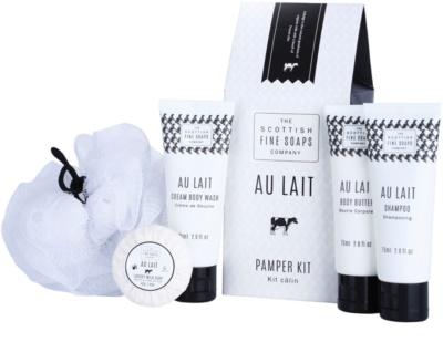Scottish Fine Soaps Au Lait kozmetika szett I. 1