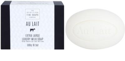 Scottish Fine Soaps Au Lait luxus szappan
