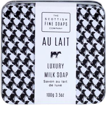 Scottish Fine Soaps Au Lait Pозкішне мило в металевій коробочці 2