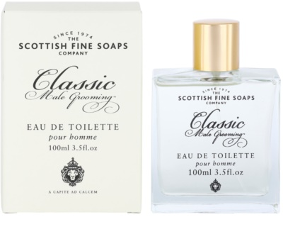 Scottish Fine Soaps Classic Male Grooming Eau de Toilette para homens