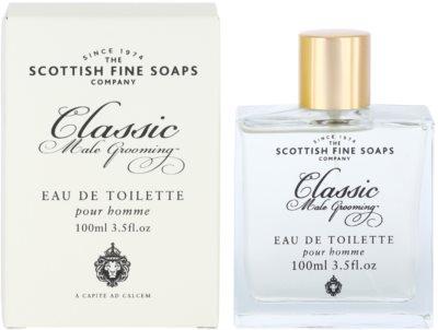 Scottish Fine Soaps Classic Male Grooming toaletní voda pro muže