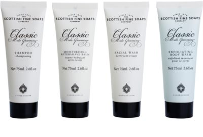 Scottish Fine Soaps Classic Male Grooming darilni set 1