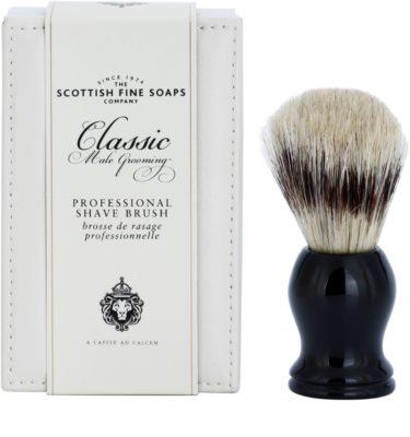 Scottish Fine Soaps Classic Male Grooming čopič za britje za moške