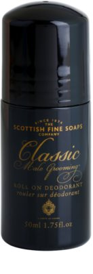 Scottish Fine Soaps Classic Male Grooming deodorant Roll-on para homens