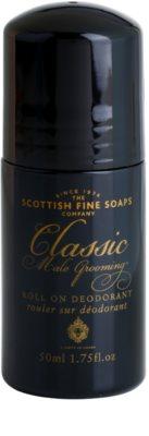 Scottish Fine Soaps Classic Male Grooming desodorante roll-on para hombre