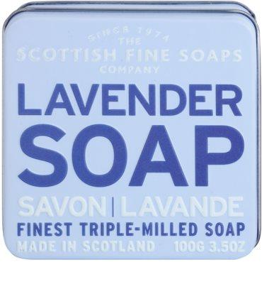 Scottish Fine Soaps Lavender Luxusseife mit Blechetui 2