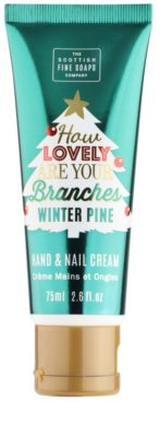 Scottish Fine Soaps Lovely Branches крем для рук та нігтів