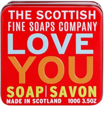 Scottish Fine Soaps Love You Luxusseife mit Blechetui 2