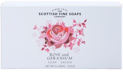Scottish Fine Soaps Rose and Geranium parfumsko milo za ženske 1