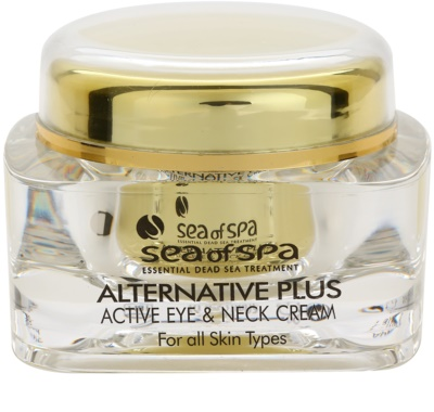 Sea of Spa Alternative Plus Aktivcreme für Augen und Dekolleté