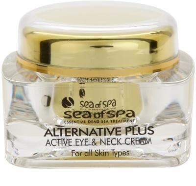 Sea of Spa Alternative Plus crema activa para el contorno de ojos y escote