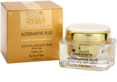 Sea of Spa Alternative Plus aktivna krema za predel okoli oči in dekolte 3