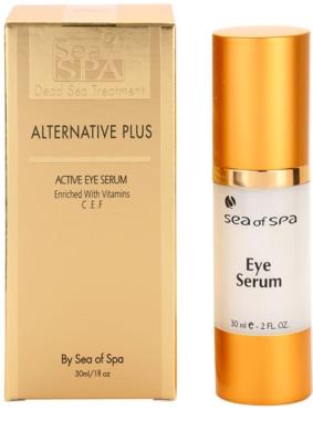 Sea of Spa Alternative Plus aktivní sérum na oční okolí 2