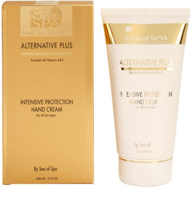 Sea of Spa Alternative Plus crema de manos con protección intensiva 1
