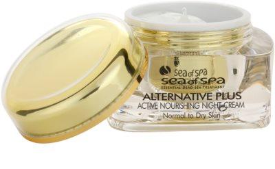 Sea of Spa Alternative Plus nährende Aktivcreme für die Nacht für normale und trockene Haut 1